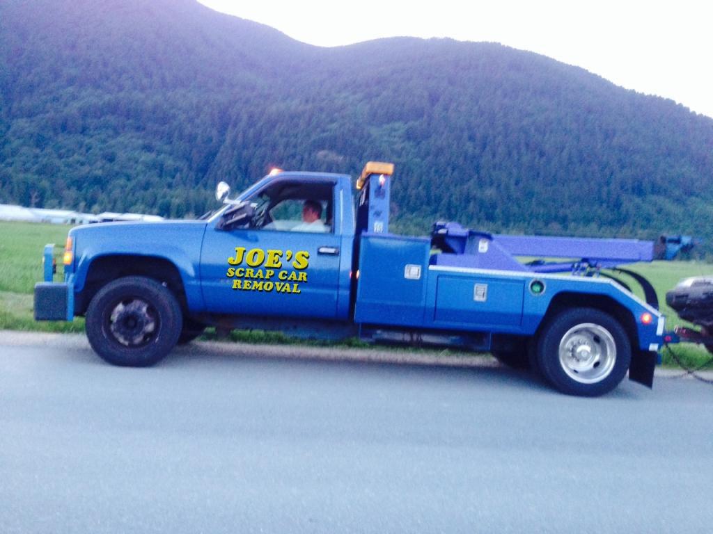 Vancouver Scrap Car Removal - Junk Auto Towing