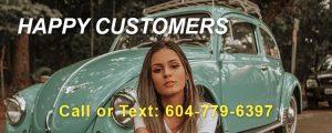 happy customer car removal