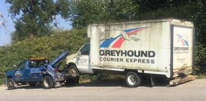 removing a junk truck