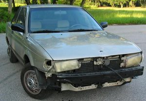 scrap car for removal