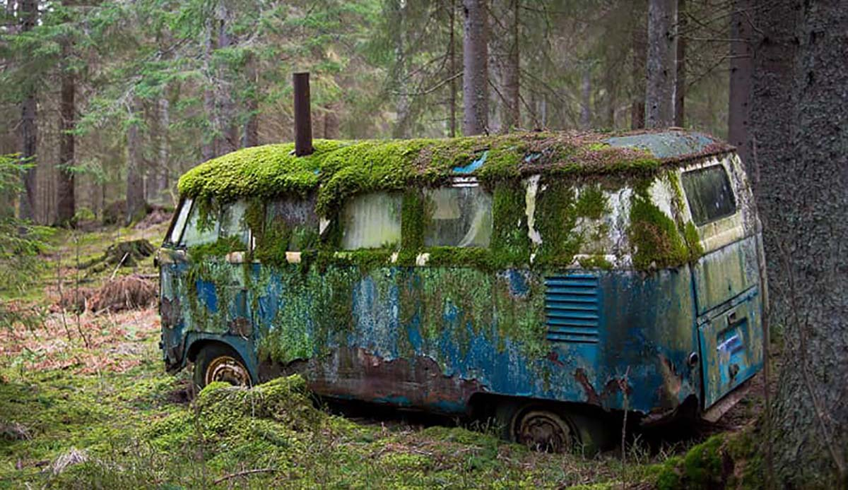 old van to scrap for cash